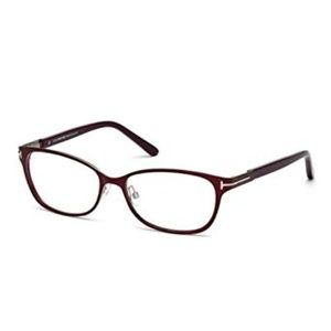 TOM FORD TF 5282 083 BURGUNDY EYEGLASSES RX FRAME